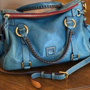 Dooney & Bourke Florentine Small Satchel - Blue